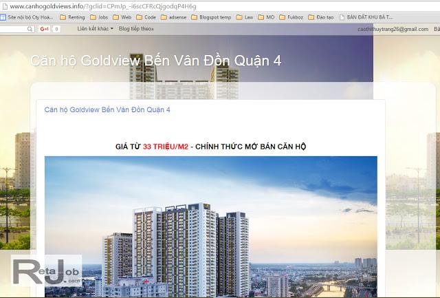 Quảng cáo Remarketing bất động sản