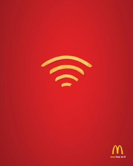 Hình ảnh quảng cáo McDonald's
