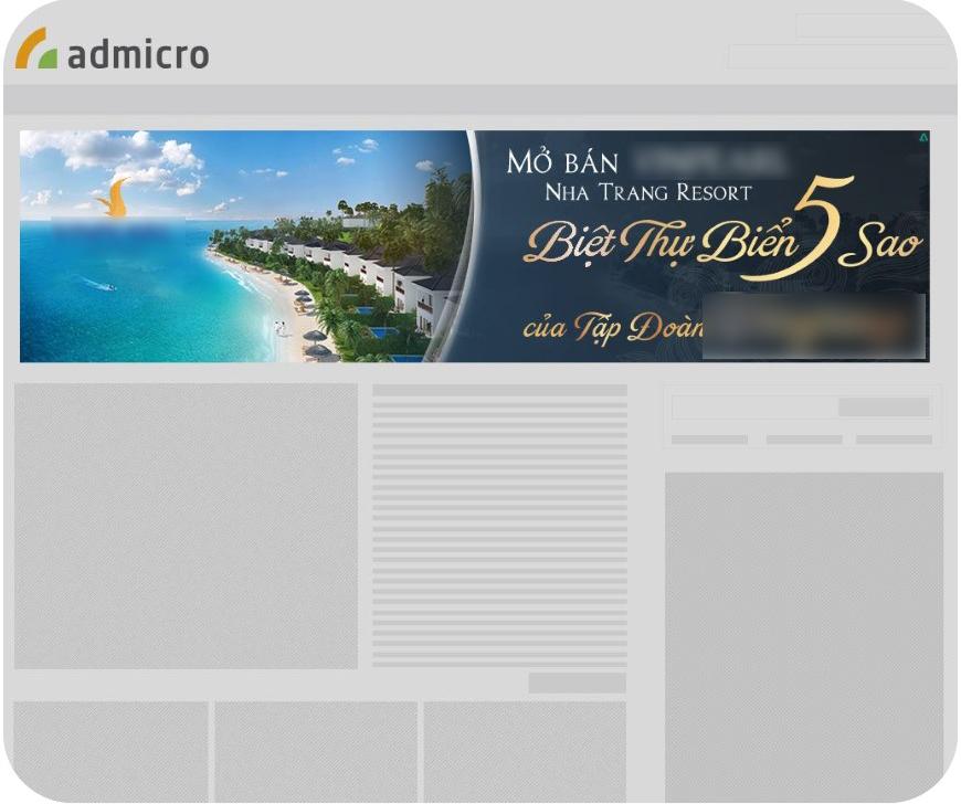 Banner KingSize Admicro hiệu quả