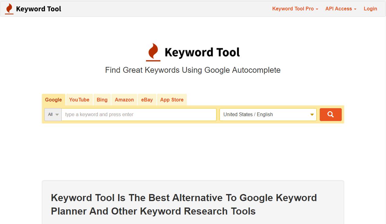 Công cụ nghiên cứu từ khóa Keyword Tool
