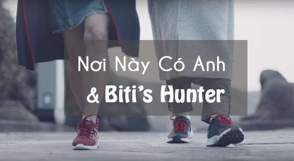 """Đội Truyền Thông Của Biti's Hunter Tiếp Tục Quảng Cáo """"Nơi Này Có Anh"""" Của Sơn Tùng M-TP"""