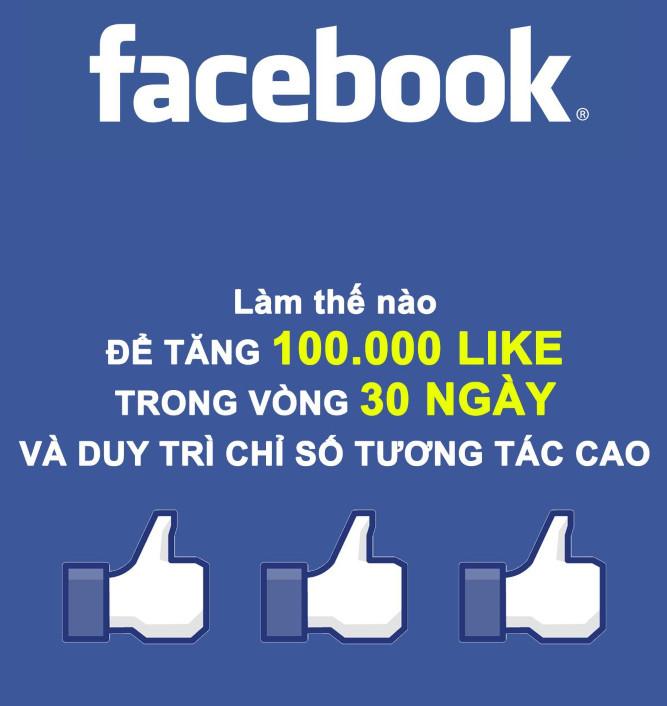 Bộ tài liệu: Làm sao để tăng 100.000 like trong vòng 30 ngày và duy trì chỉ số tương tác cao