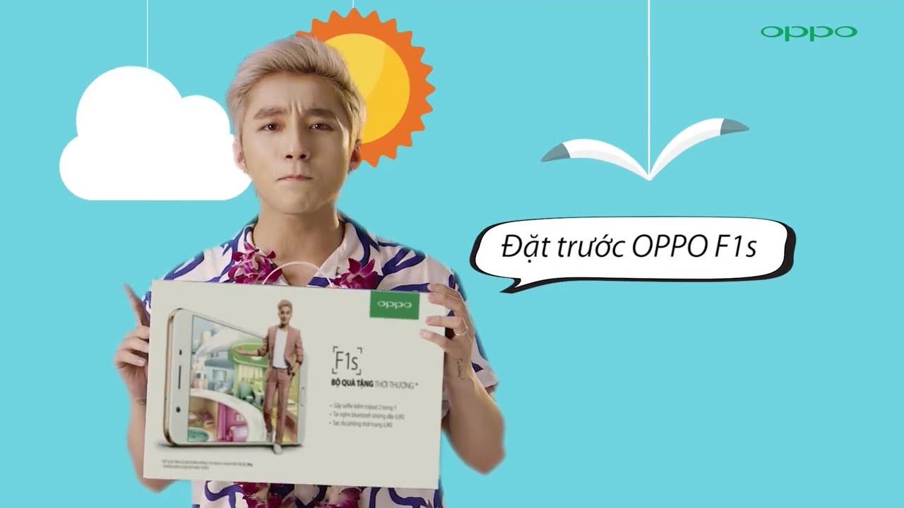 Sơn Tùng MTP - Đại sứ thương hiệu Oppo