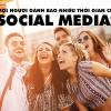 sử dụng ứng dụng social media