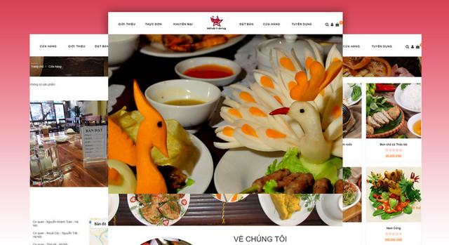 marketing nhà hàng - website thân thiện với người dùng