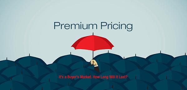 premium pricing