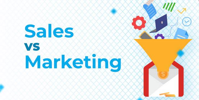 sự khác nhau giữa sales và marketing như nào 001