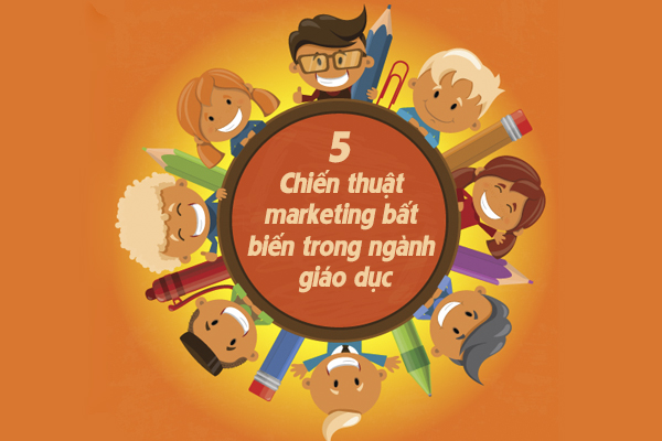 """5 Chiến thuật marketing """"bất biến"""" trong ngành giáo dục hiệu quả"""