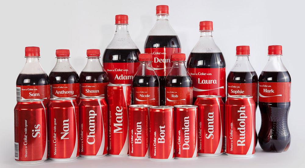 marketing cá nhân hóa với coca-cola