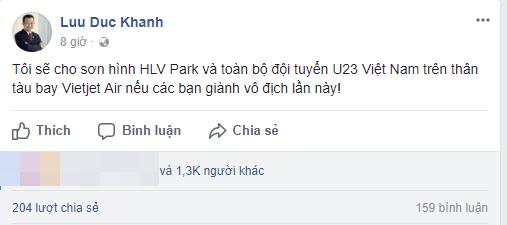 u23 vietnam vietjet air