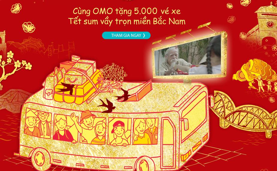 quảng cáo tết OMO