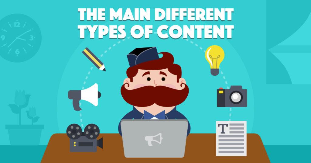 TOP 8 dạng nội dung Content marketing thường gặp nhất