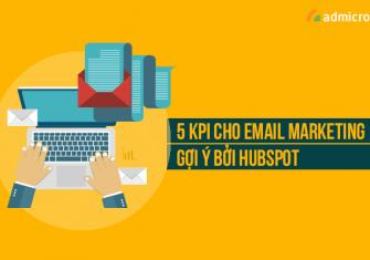 5 KPI mẫu cho Email marketing gợi ý bởi Hubspot-min