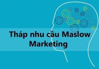 Tháp nhu cầu Maslow trong Marketing là gì? Cách ứng dụng thực tế?
