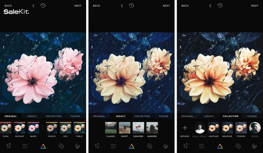 Công cụ chỉnh sửa ảnh hỗ trợ bán hàng trên Instagram - Afterlight