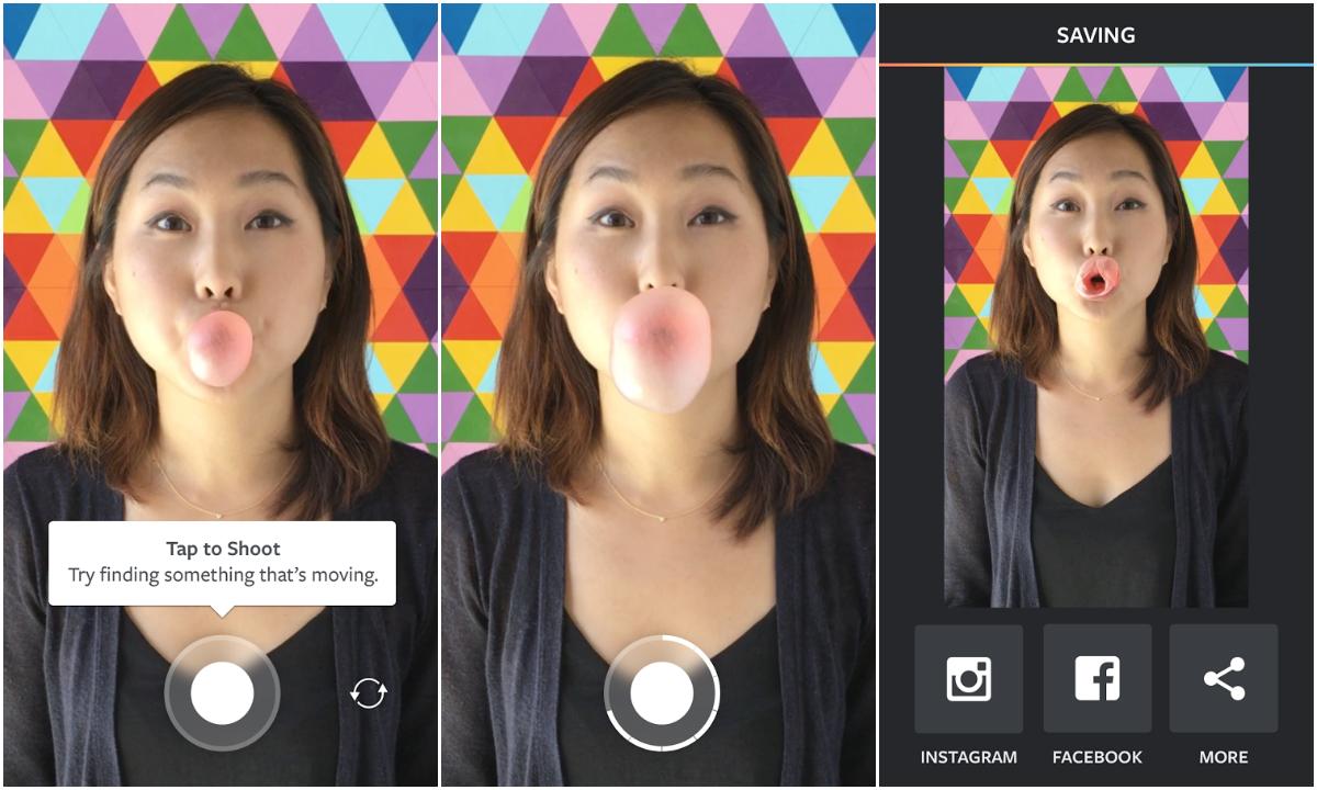 Công cụ chỉnh sửa ảnh hỗ trợ bán hàng trên Instagram - Boomerang