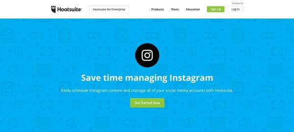 Công cụ giúp tăng hiệu suất bán hàng trên Instagram - Hootsuite