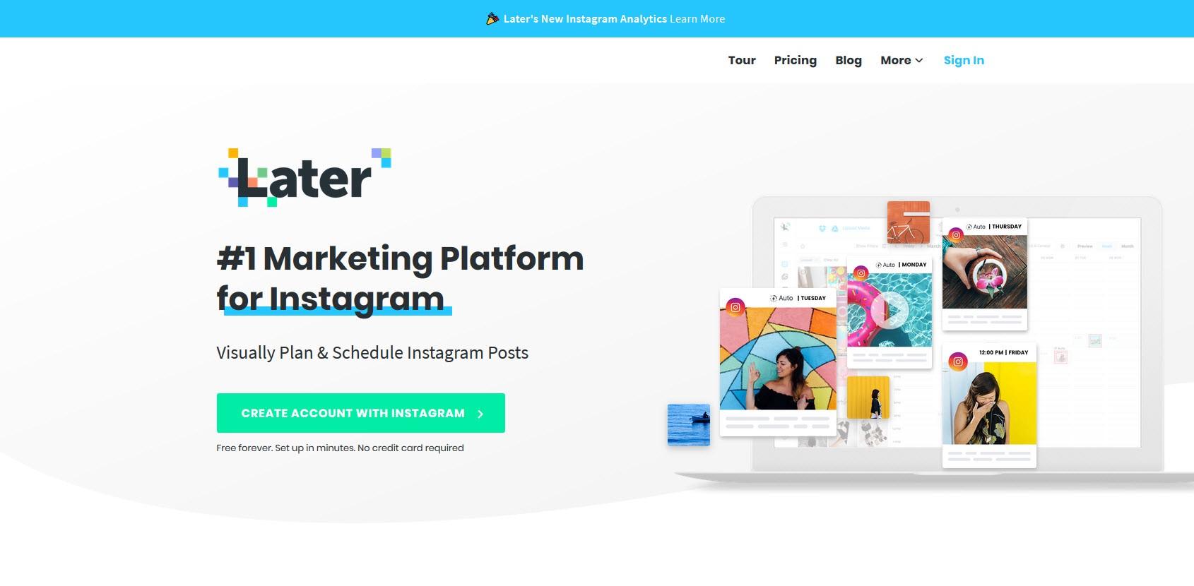 Công cụ giúp tăng hiệu suất bán hàng trên Instagram - Later