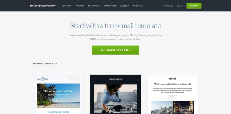 Phần mềm email marketing miễn phí Benchmark
