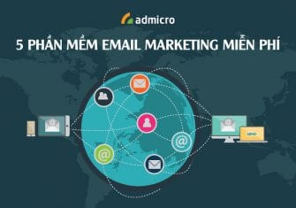 5 phần mềm email marketing miễn phí