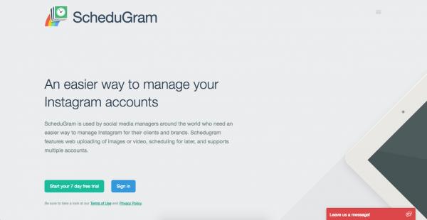 Công cụ giúp tăng hiệu suất bán hàng trên Instagram - Schedugram