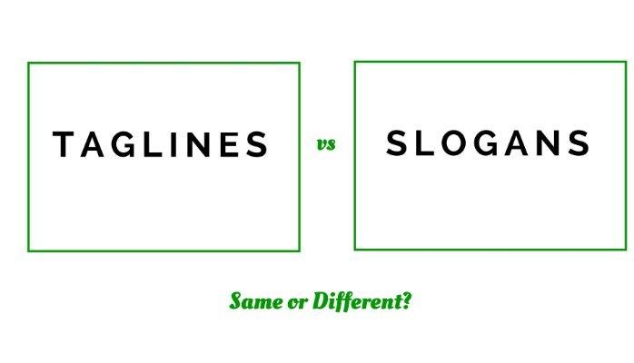 Tagline là gì? sự khác biệt giữa slogan và tagline là gì?