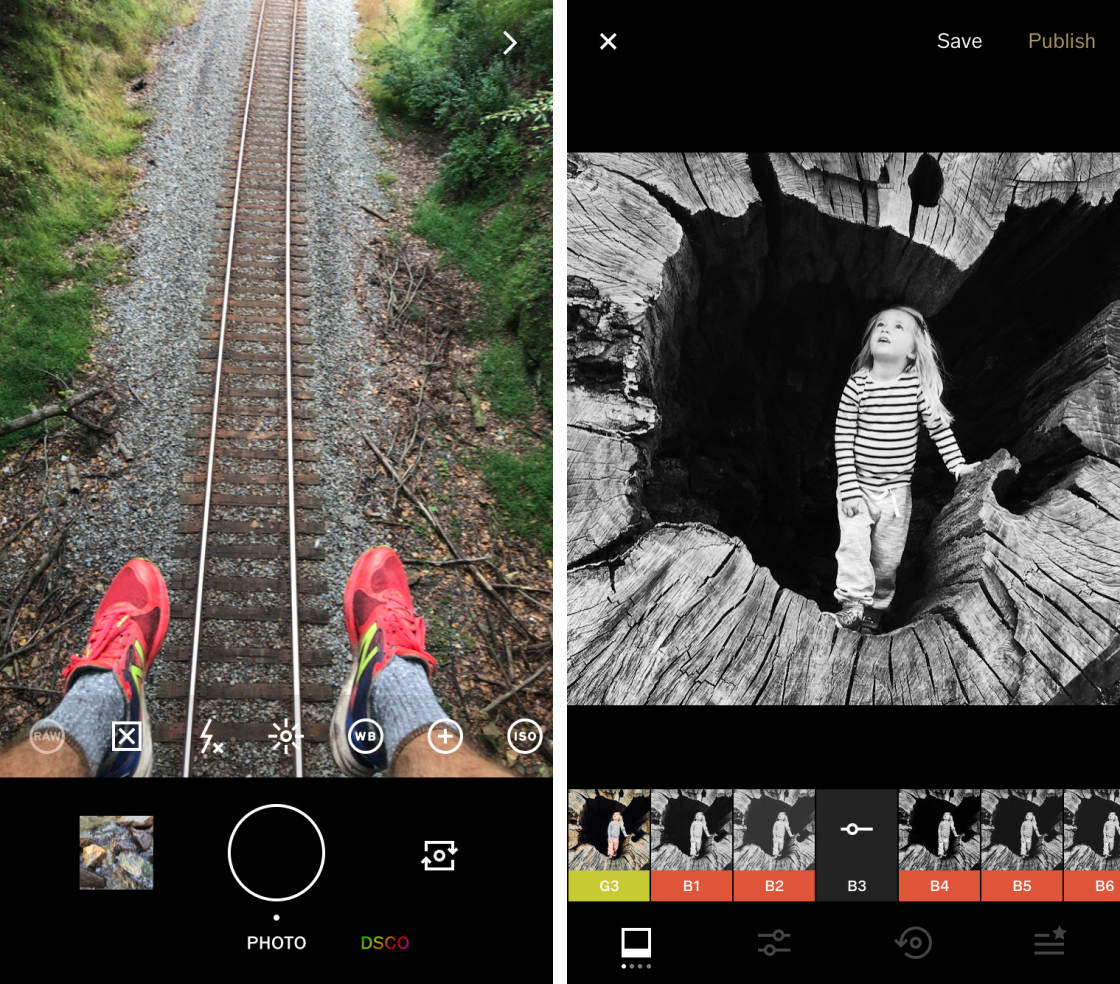Công cụ chỉnh sửa ảnh hỗ trợ bán hàng trên Instagram - VSCO