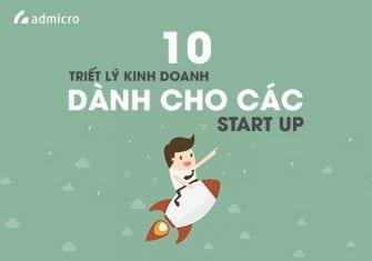 10 triết lý kinh doanh