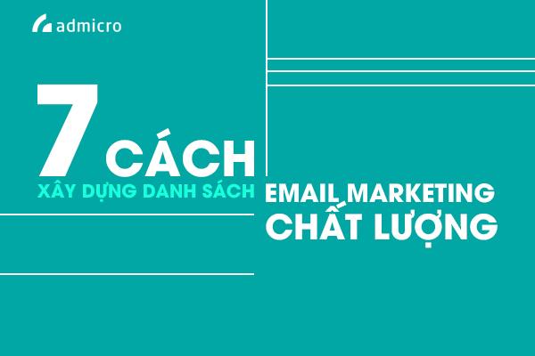danh sách Email Marketing hiệu quả