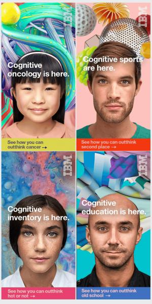Banner quảng cáo đẹp của IBM