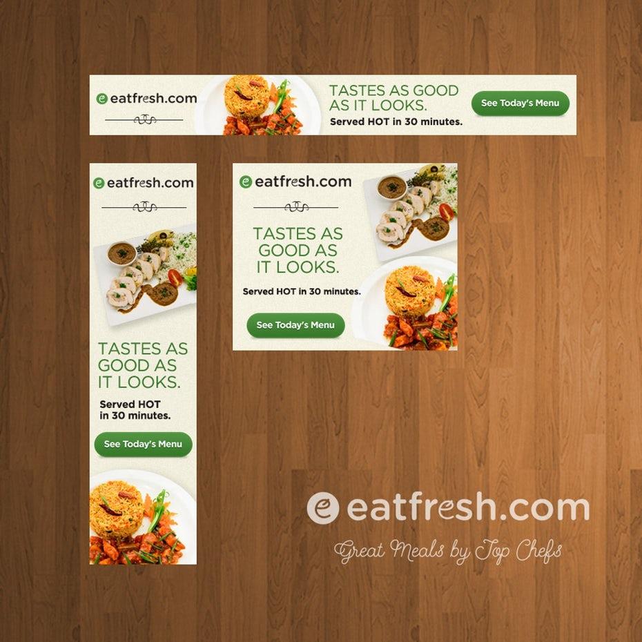 Banner Quảng cáo Eatfresh.com