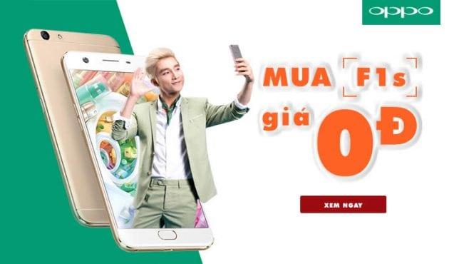 Banner quảng cáo của Oppo