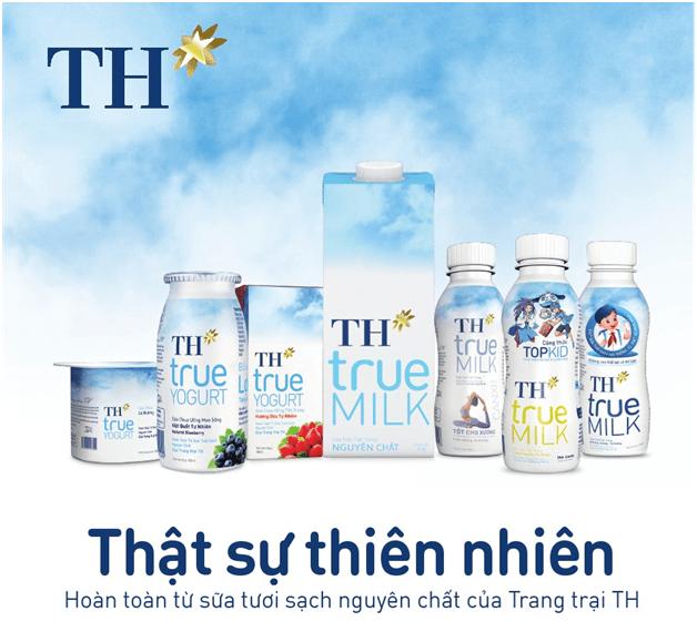 slogan hay - TH True Milk