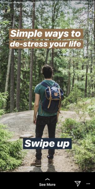 insta stories ex6 - 13 chiến lược Instagram Stories dành cho doanh nghiệp năm 2019!