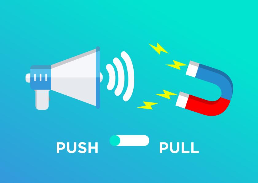 Kết hợp sử dụng chiến lược đẩy và kéo trong marketing
