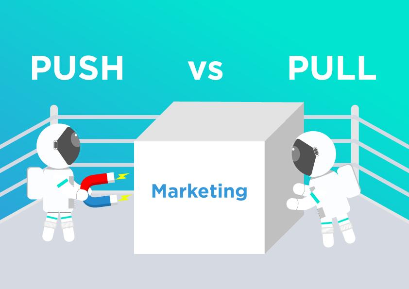 Chiến lược đẩy và kéo trong marketing của doanh nghiệp