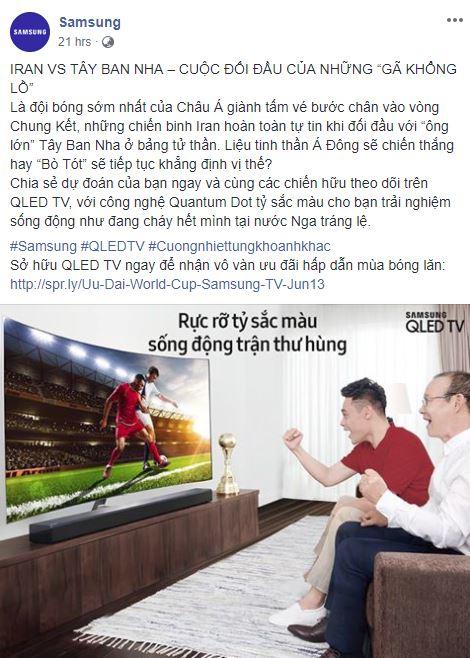 Social Media - Sôi động mùa World Cup