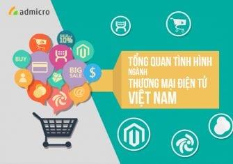 Tổng quan tình hình ngành thương mại điện tử ở Việt Nam