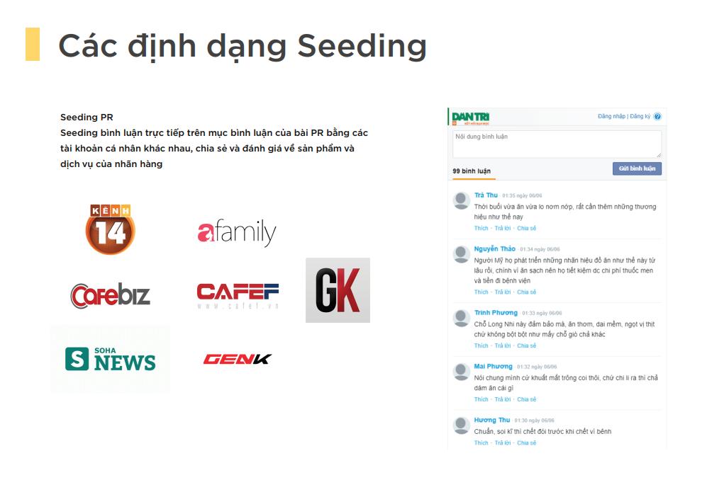 Công cụ Social Seeding cho doanh nghiệp SMB