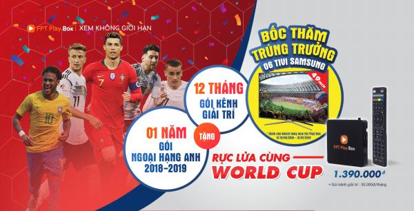 FPT Play tổ chức bốc thăm trúng thưởng - các hình thức khuyến mãi trong marketing mùa World Cup