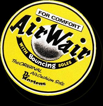 AirWair - giầy có đế thương hiệu Dr. Martens