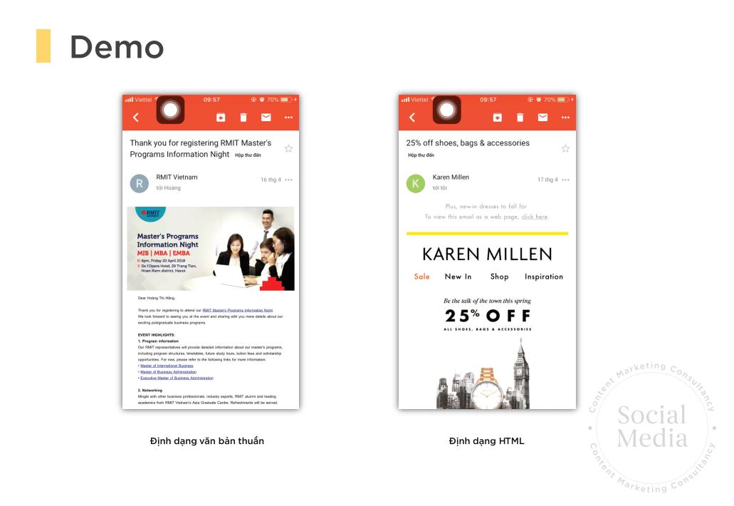 Dịch vụ Email Marketing cho doanh nghiệp SMB