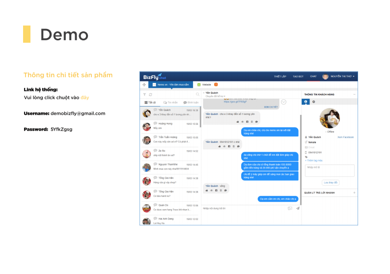 Dịch vụ Chatbot cho doanh nghiệp SMB
