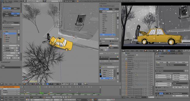 Blenderphần mềm thiết kế 3D miễn phí chuyên nghiệp