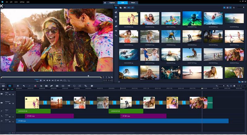 Corel VideoStudio Pro phần mềm chỉnh sửa video có phí tốt nhất