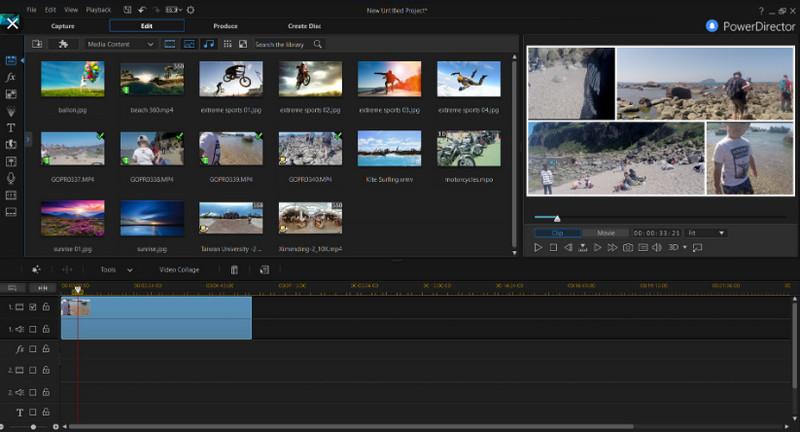 CyberLink PowerDirector công cụ chỉnh sửa video tình phí tốt nhất