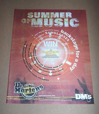 """Quảng cáo của thương hiệu Dr. Martens có tựa đề """"Summer of Music"""". Nguồn"""