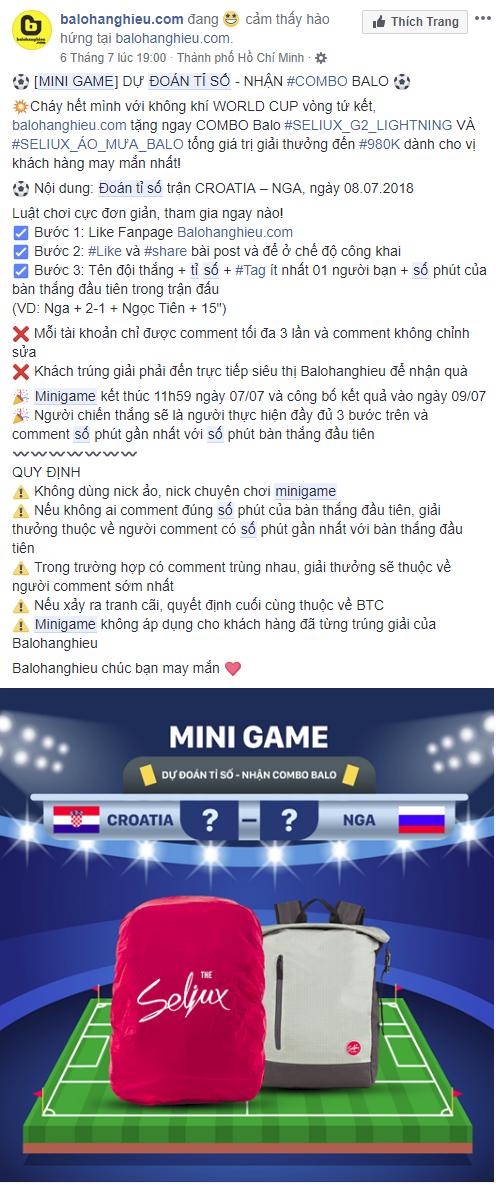 balohanghieu.com - PR trên Facebook là gì