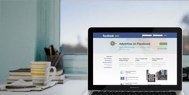 quảng cáo sản phẩm trên Facebook đơn giản và quen thuộc