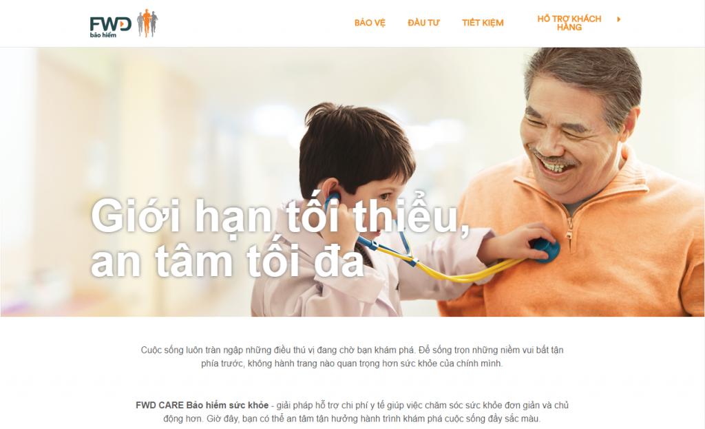 Chọn đại sứ thương hiệu cho bảo hiểm nhân thọ FWD là một bảo hiểm uy tín trên thị trường Việt Nam